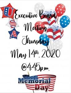 May Executive Board Meeting
